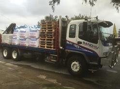 12 Ton - 10 Pallet Crane Truck - Sand4u